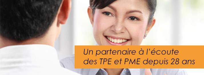 partenaire à l'écoute des TPE et PME