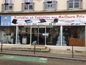 Le magasin RCB INFOMATIQUE à Versailles vente de matériels informatique et dépannage
