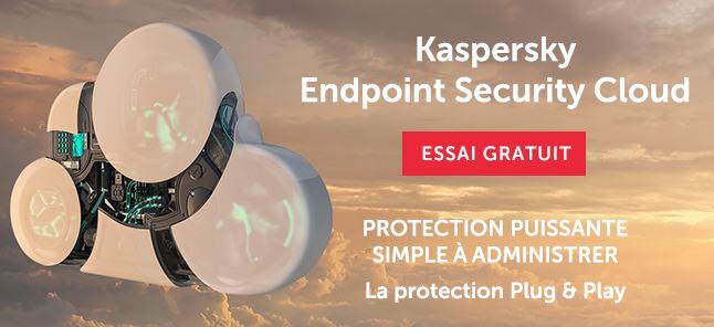 Testez gratuitement Kaspersky sécurité informatique avec un essai gratuit de 30 jours sans engagement