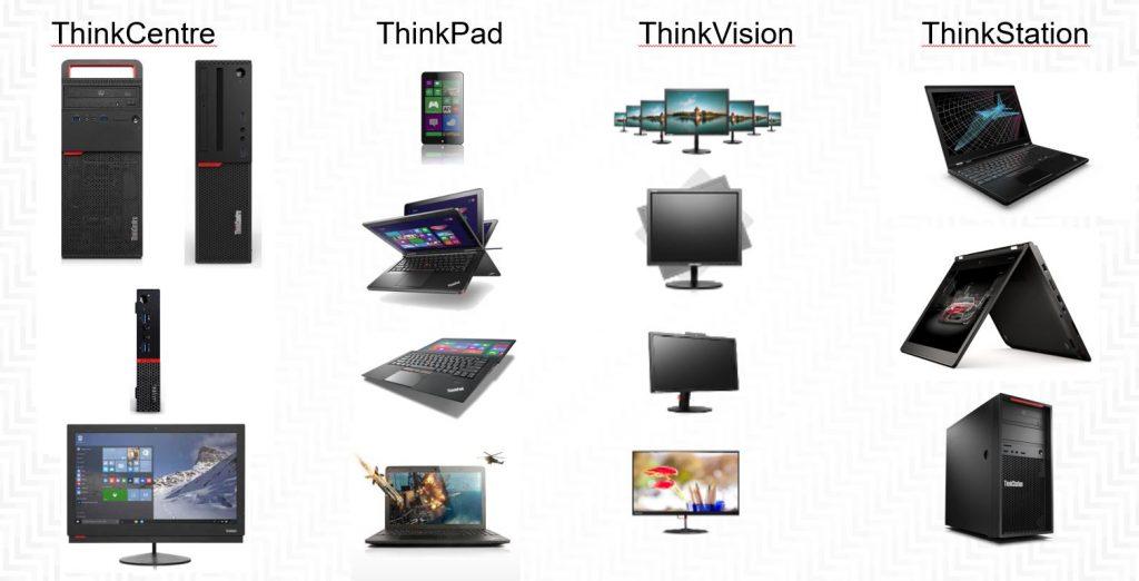 Lenovo PC, portables et stations de travail