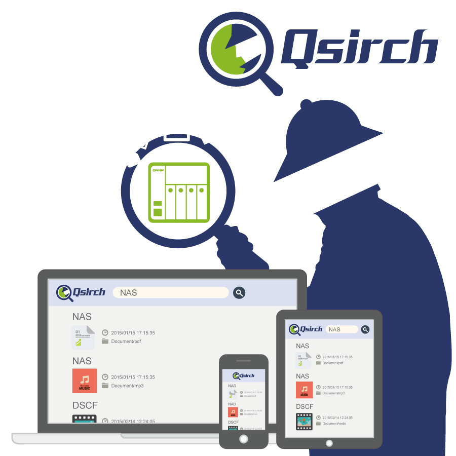 Retrouvez facilement vos données avec les applications QNAP