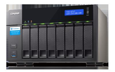 NAS QNAP pour le stockage et la sauvegarde de données pour les professionnels