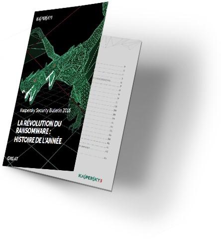 La révolution du ransomware - Livre blanc Kaspersky sécurité informatique à télécharger