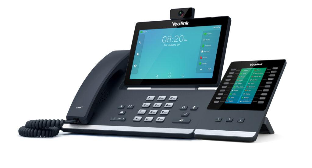 VOIP et téléphonie Cloud avec Yealink