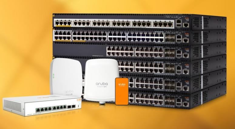 Switch Et Point D'accès Wifi HPE Aruba Pour Les Professionnels
